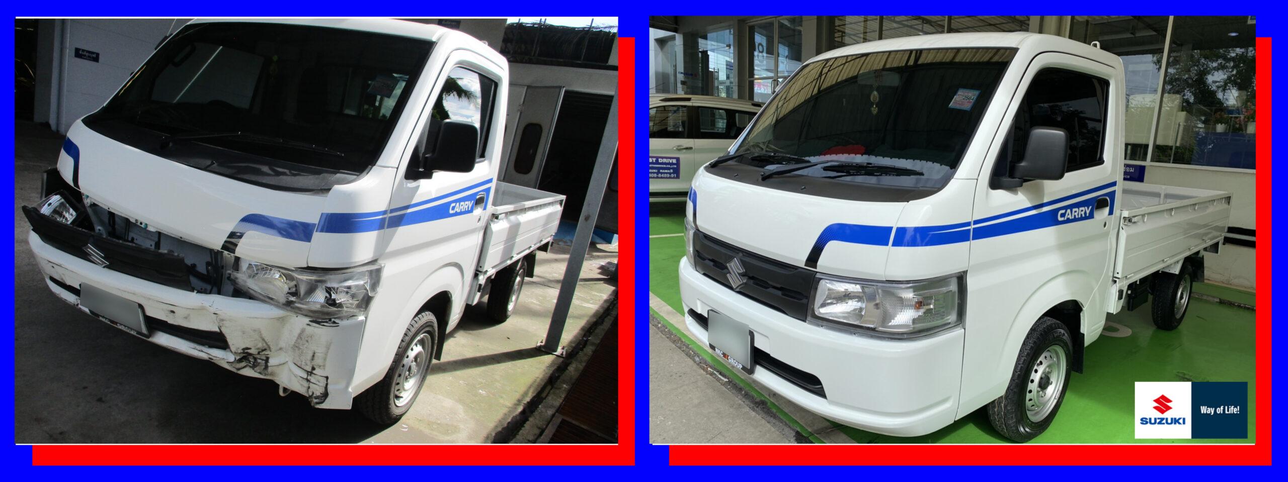 ซ่อมสี Suzuki 2